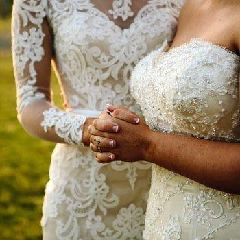 Same sex wedding celebrant Liz Pforr