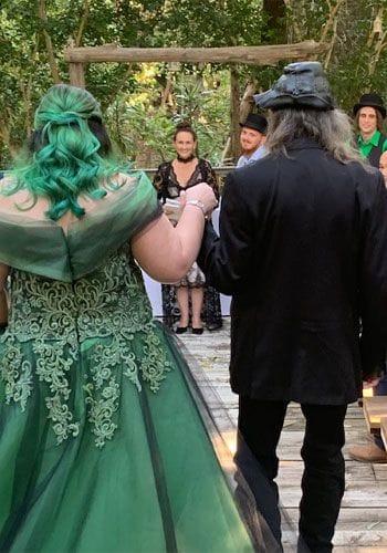 Alternative wedding celebrant Liz Pforr