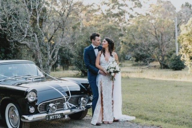 Thunderbird wedding car