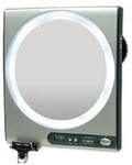 Fogless Mirror: Adjustable 1X to 5X  magnification. JKZ850