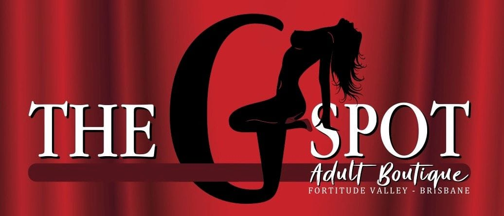 The G Spot Adult Boutique Fortitude Valley Sex Shop Logo Slim