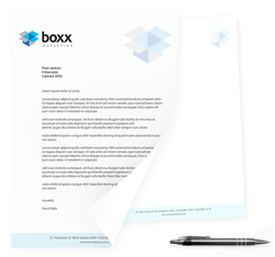 Letterheads & With Comps Slips