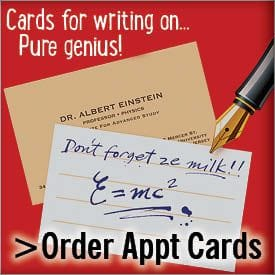 Order Appointment Cardss