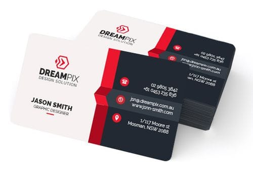 Business Cards Round Corners