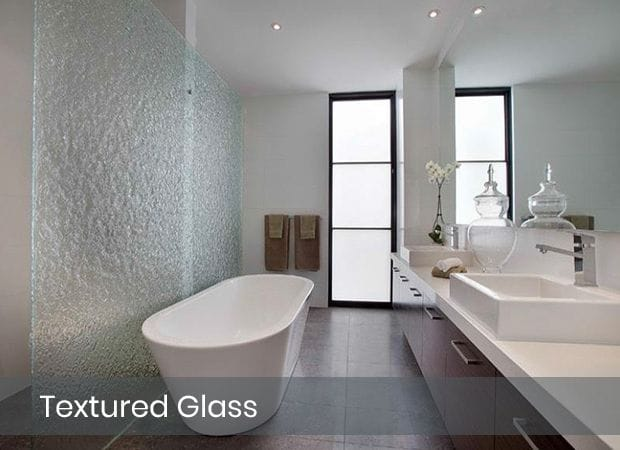 Ocean Blue Glass | Textured Glass