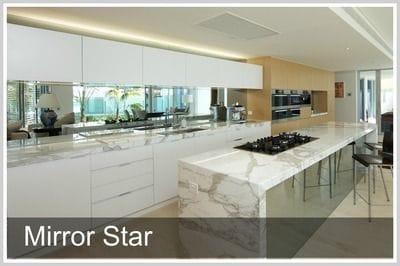 Ocean Blue Glass | Mirror Star