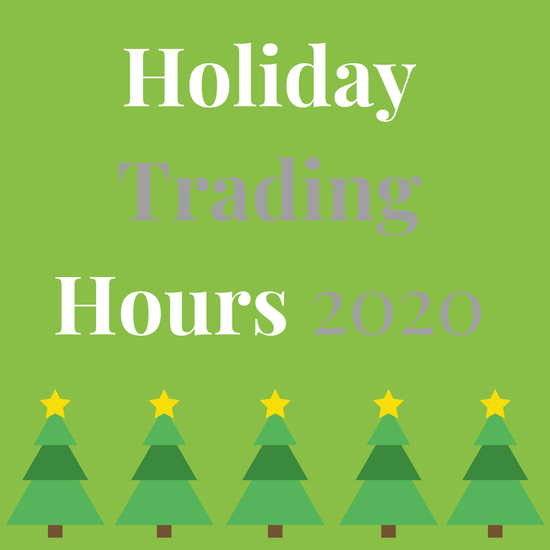 Christmas Trading Hours 2020