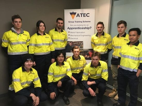 Welcome to the first ATEC Group Training Electrical Pre-Apprenticeship Group