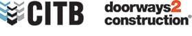 D2C (Doorways to Construction) and CITB Logos