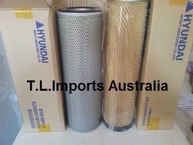 Hyundai Excavator 140LC - All filters