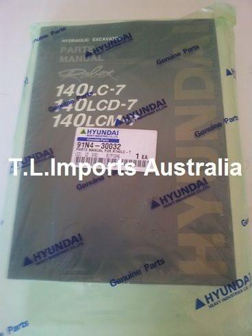 Hyundai R140LC - Parts Book