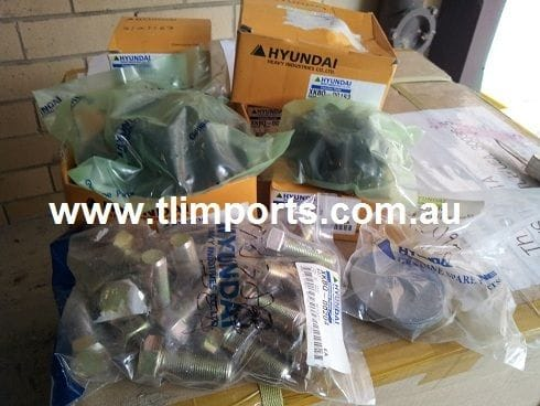 Hyundai Loader Parts - Rear Diff Parts