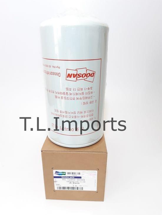 Doosan Fuel Filter - 65.12503-5033A and 400508-0034