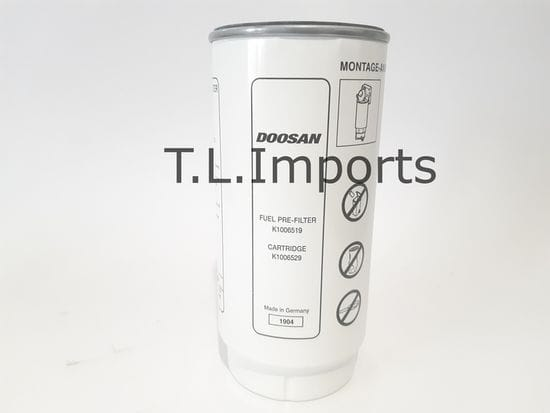 Doosan Cartridge Fuel Filter - K1006529