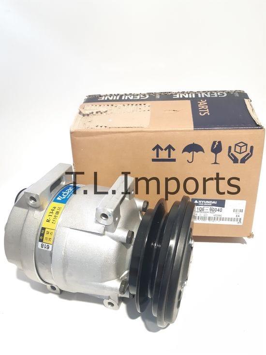 Hyundai R210LC-7 - A/C Compressor (#11N6-90040)