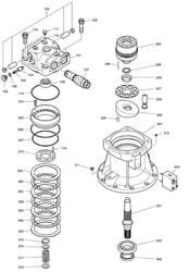 Swing Motor - DX480LC