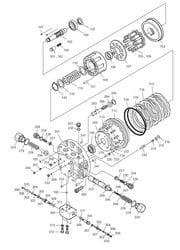 Travel Motor - DX255LC