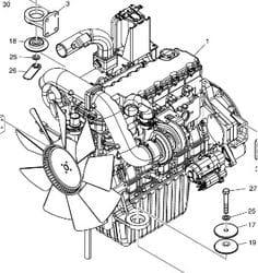 Engine Parts - DX190W