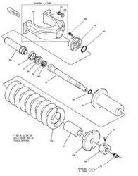 Track Spring - Solar SL225LC-V