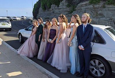 School Formals | Newcastle Limousines