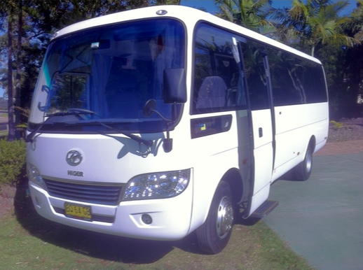 28 Passanger Hunter Valley hire bus