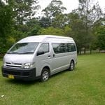 Light Rigid Toyota Hi Ace 13 Seats + Driver