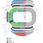 ANZ Seating Map for The Royal Edinburgh Military Tattoo