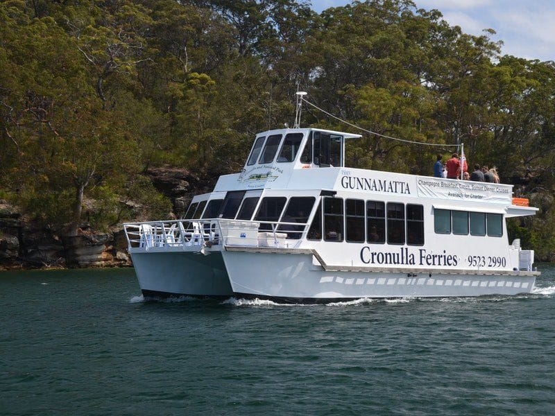 Connect Coaches Port Hacking Luncheon Cruise