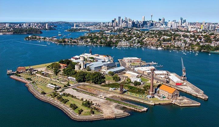Parramatta River & Cockatoo Island
