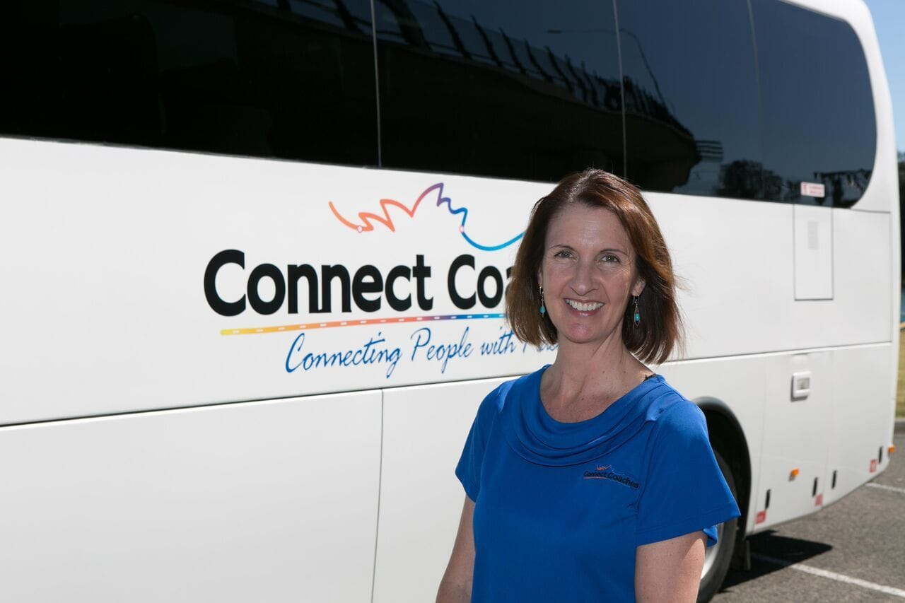 Conect Coaches Tour Director - Alison Harris