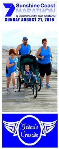 Aedan's Crusade Run the Sunshine Coast Marathon