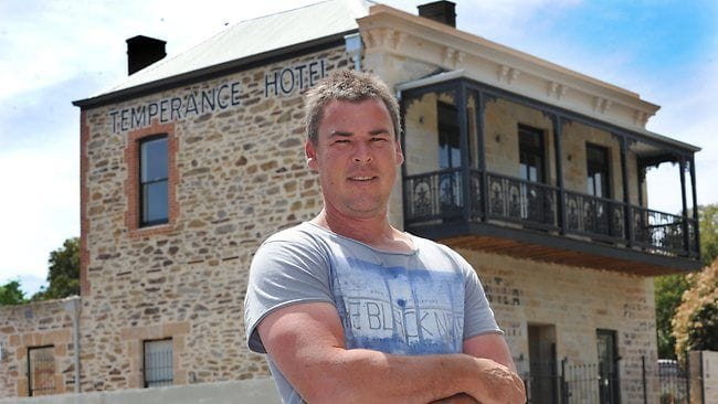 Charles Savage Construction, Temperance Hotel, home renovation, pools, Adelaide