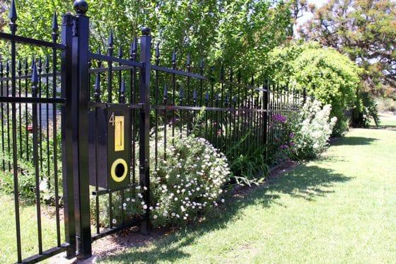 Decorative and tubular fencing
