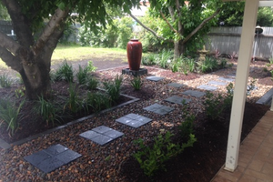 Scone Backyard Landscape Design