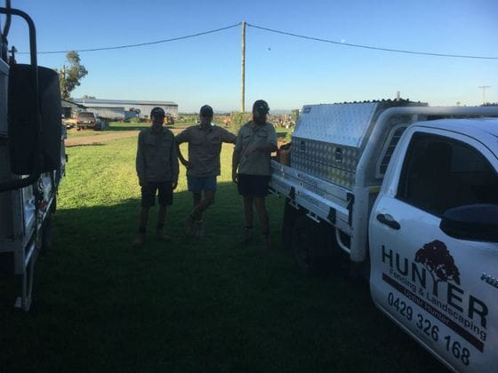 Hunter Fencing and Landscaping Team