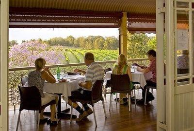 The Verandah Restaurant Hunter Valley Wine Tour