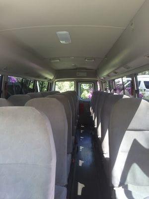Hunter Valley 24 Passenger Seat Mini buses Interior