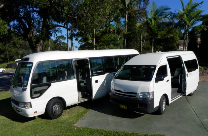 Hunter Valley 20 Passenger Seat Mini buses
