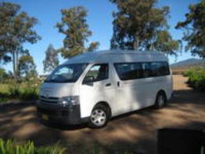 Hunter Valley 13 Passenger Seat Mini buses