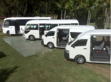 Hunter Valley Wine Tour transport Mini Buses