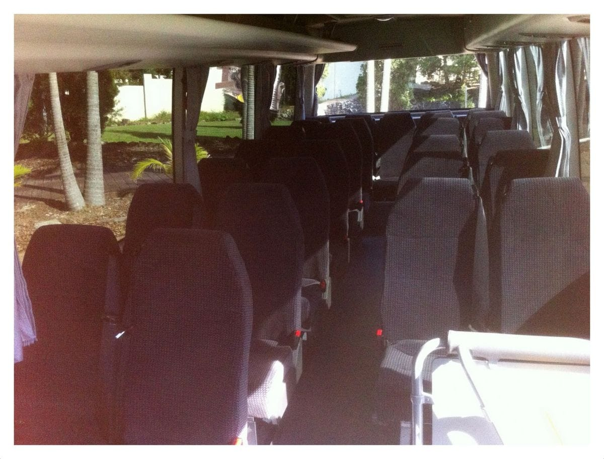 Hunter Valley 28 Passenger Bus for hire | Pokolbin Hire Cars