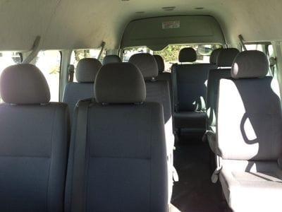 Hunter Valley 11 Passenger Seat Mini buses Interior