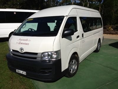 Hunter Valley 11 Passenger Seat Mini buses