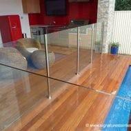 Semi-Frameless Glass Pool Fencing