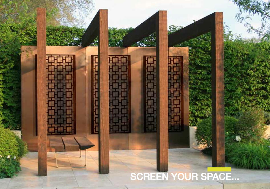 Decorative outdoor privacy screen quotes for Outdoor decorative screens