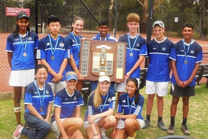 2020 Daphne Fancutt Waverley Tennis winning team