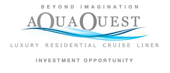 Aqua Quest Luxury Residential Cruise Liner