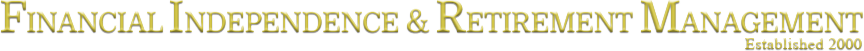 Financial Independence & Retirement Management