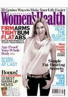 Women's health magazine cover august 2010