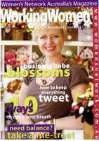 Working Women Magazine cover spring 2009